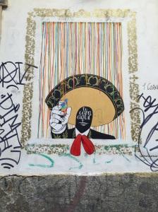 Madrid-La Latina #streetart Aralik'14 #strikeapose taken by storiesonacloud