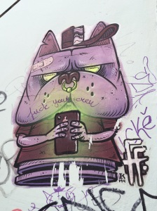 Lizbon centro #streetart taken by storiesonacloud Aralik'14