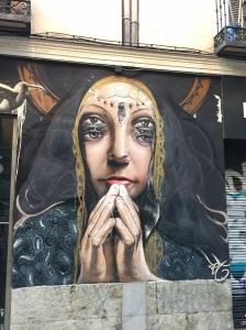 Madrid-Malasaña #streetart Aralik'14 taken by storiesonacloud
