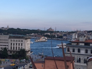 The view from the Vault Kasa Roof at Karakoy-Istanbul Photo by storiesonacloud June'15
